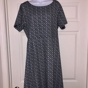 Renee C - Florencia Textured Dress (Stitch Fix)